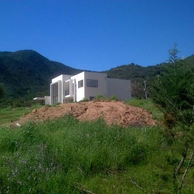 Casa Cubo de estilo mediterráneo