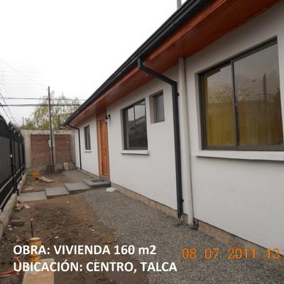 Diseño y Construcción, vivienda comuna de Talca, sector centro
