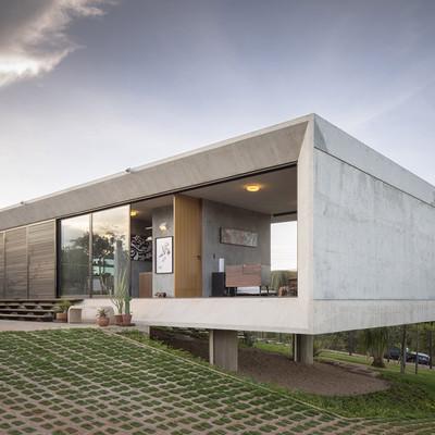 10 casas de hormigón impresionantes