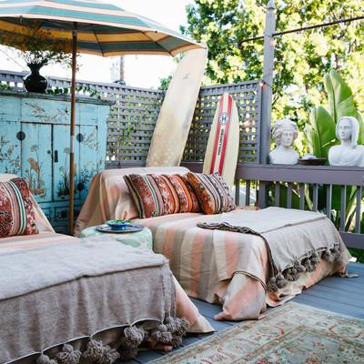 Aprende cómo crear un ambiente 'chill out' en tu terraza