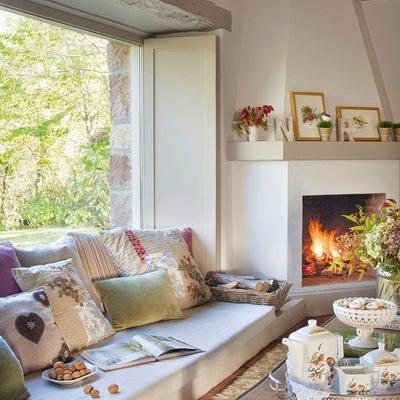 5 tipos de chimenea para aguantar lo que queda de invierno