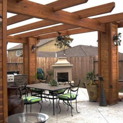 Ideas de cobertizos para inspirarte habitissimo for Cobertizos para patios