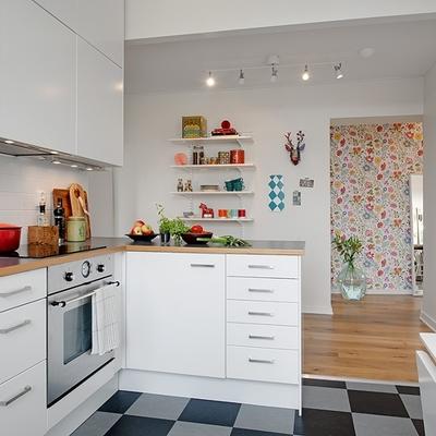 8 cocinas muy bien aprovechadas en departamentos pequeños