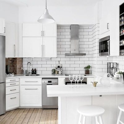 9 cocinas pequeñas que usaron el ingenio
