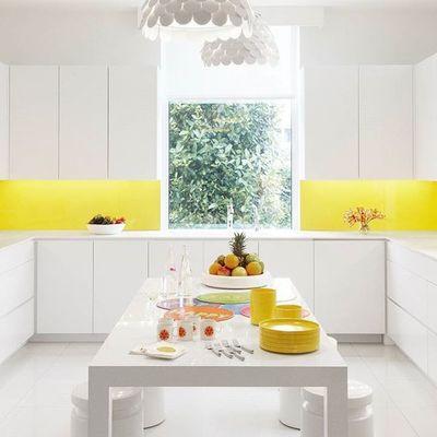 frente cocina amarillo