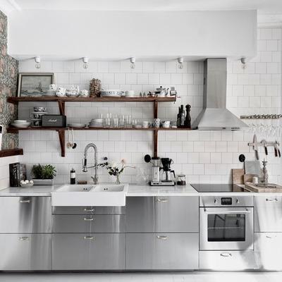 9 cocinas que invitarán a preparar un delicioso almuerzo