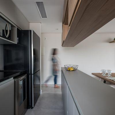 Cómo sobrevivir a una cocina estrecha