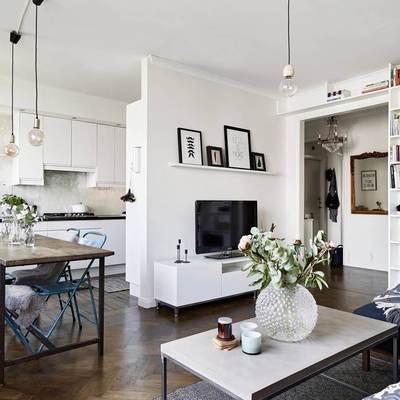 Open Concept: 10 ideas para tener una cocina abierta al living-comedor