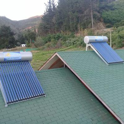 instalación de colectores solares