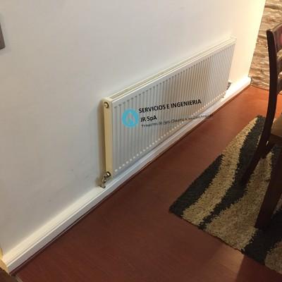 Instalación sistema central de calefacción. Ubicación: San Bernardo