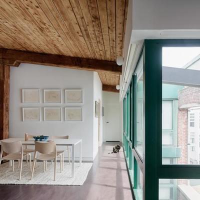 Cómo reciclar y reconventir un hogar en un antiguo molino