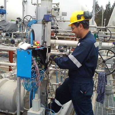 Comisionamiento Industrial Enap Planta LPG
