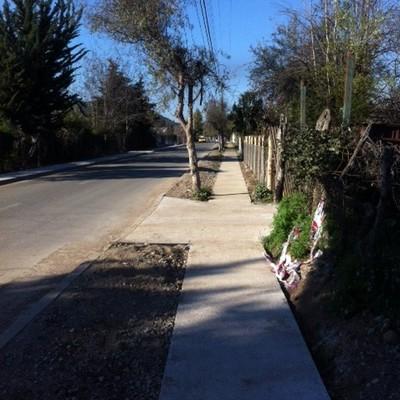 Construcción de Veredas Avenida El Rincón - La Punta