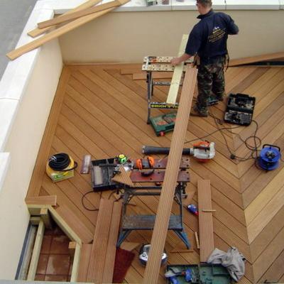 construccin decking