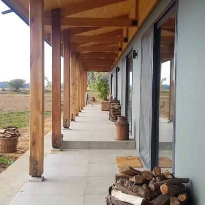 Casa tradicional en el fundo de Santa Rosa
