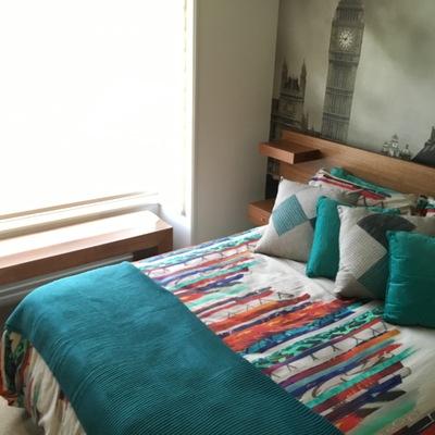 Dormitorio Casa Barrio Inglés -Temuco