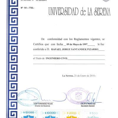 Certificados de Títulos
