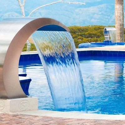 cuello de cisne piscina
