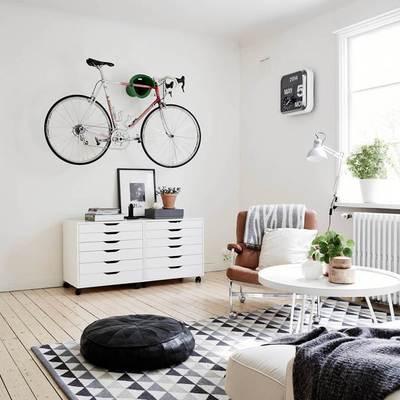 decoracion con bici
