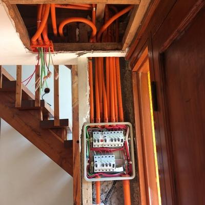 Recablear Casa 4 Dormitorios - Las Condes, Santiago