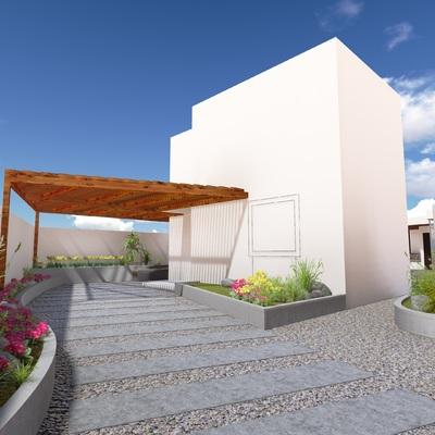 Diseño y proyecto Areas Exteriores - Casa Costa Laguna