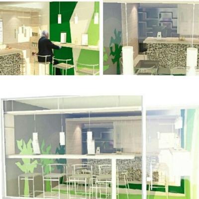 Diseño Interior Café Pimienta & Canela