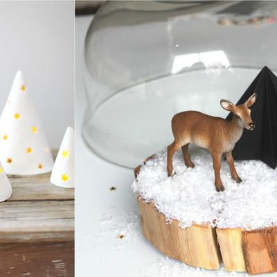 4 Sencillos DIY's para decorar tu casa en Navidad