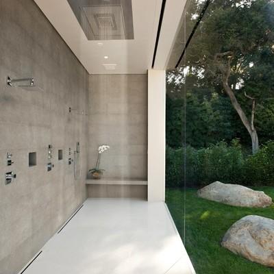 ducha de suelo continuo