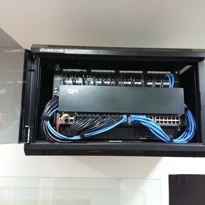 Proyecto de Instalacion del tendido de Fibra Optica de Empresas 11Once