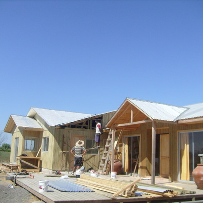 Construcción casa 120 m2