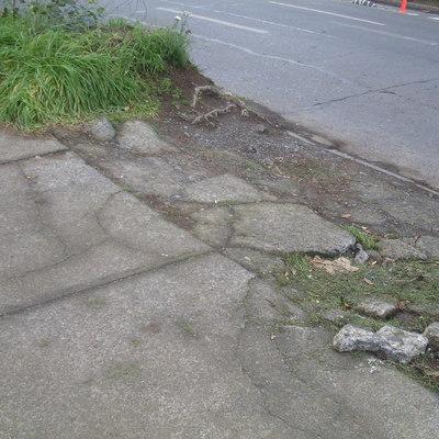 Remodelación Entrada de Estacionamiento