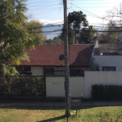 Cambio de techumbre - Casa Las Condes