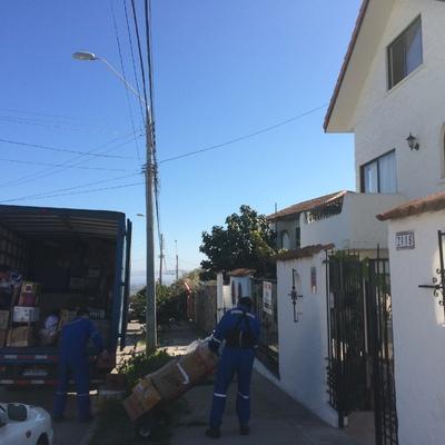Mudanza desde La Serena a Vallenar