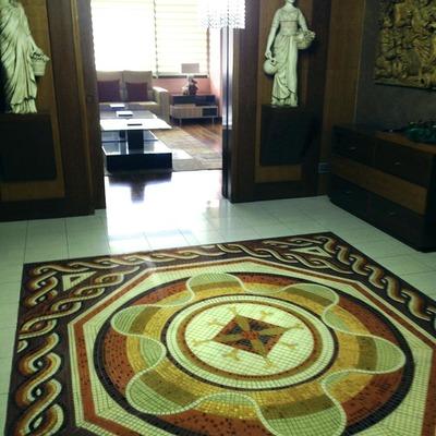 Instalación de imitación mosaico veneciano