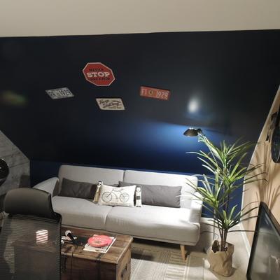 Home Office + Sala de Estar y Ensayos