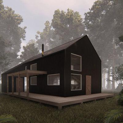 Casa HI-I (Casa Galpon)