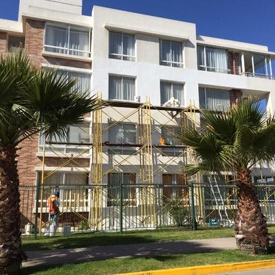 Limpieza y pintura - Edificio Las Higueras