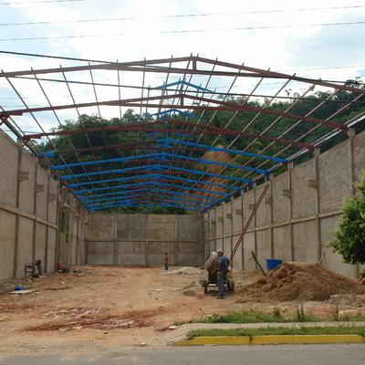 DISEÑO Y CONSTRUCCION DE GALPON DE ALMACENAMIENTO DE PRODUCTOS FERROSOS