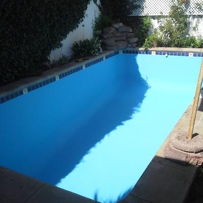 Pintura en piscinas