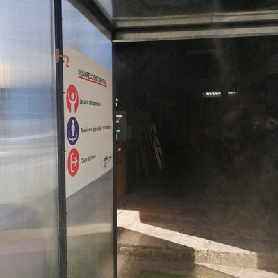 Elaboracion de Tunel de sanitizacion