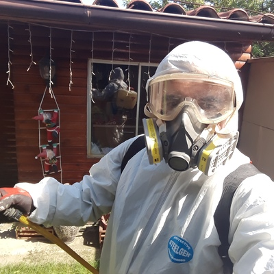 Fumigación en exterior e interior casa habitacion