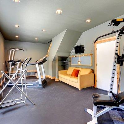 Cómo tener tu pequeño gimnasio en casa