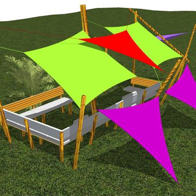 Proyecto de habilitación Toldos Velas, Jardines Junji.