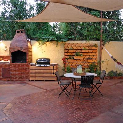 Ideas y fotos de construcci n para inspirarte habitissimo for Barbacoa patio interior