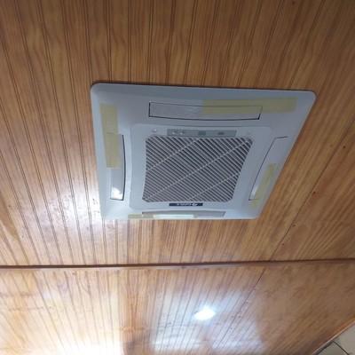 instalacion de split cassett de 18000btu