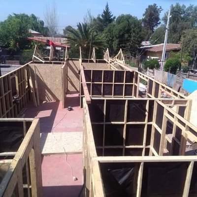 Construccion de rafier e instalación casa pre fabricada