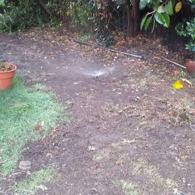 Sistema de Autorriego en Vitacura y mantención del jardín