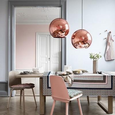 lampara cobre