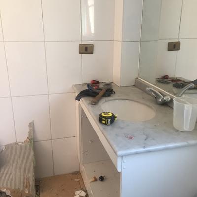 Remodelación baño lo campino