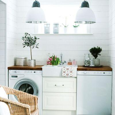 Lavandería con bacha